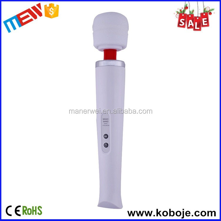2016 Hot Sale Sex Toy 10 Speeds Top Quality Vibrators Wand Massager Magic Wand