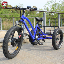 Customized fat tire electric road tricycle with good quality