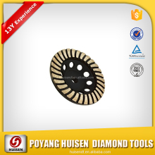 HUISEN segmented resin filled flat grinding cup wheel for sharpening and grinding