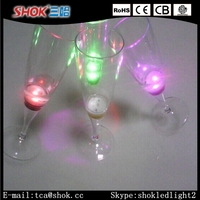 2016 Hot Selling Lighted Up Glass Plastic Led Flashing Glass Manufacturer Factory Price