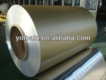 Color coated aluminium coil 1050 H24 with PE coating manufacturer
