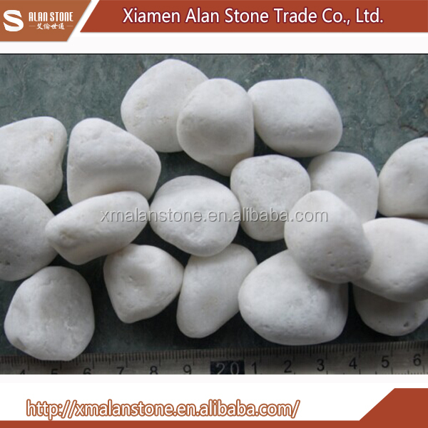 Wholesale China Products White Stone Pebbles For Landscaping