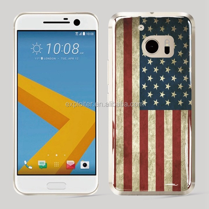 Best selling custom epoxy cell phone skin for HTC one E8