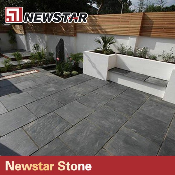 Newstar Hot Sale Good Quality Natural Slate Paving Slabs