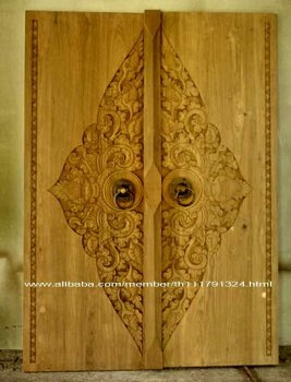 Wood Door Carving (Old Teak Wood ) 3