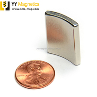 Classic style strong magnetization arc magnet