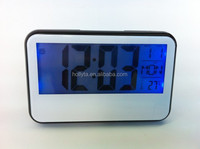Large display digital LCD day date calendar clock for elderly