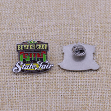 Make color filled soft enamel badge custom sale blank metal pin badge with best price