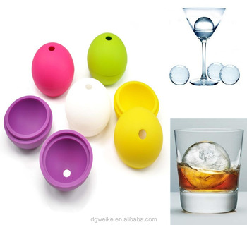 Coloful Silicone Ice Ball