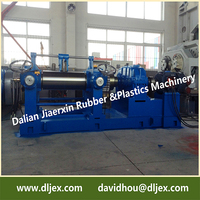 XK-360 two roll rubber mill short for rubber mixing mill whole sale price made by Dalian Rubber Mixer Machine