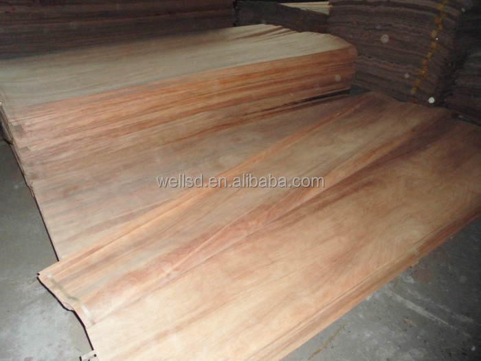 linyi hot sale 0.3mm natural okoume veneer face and back