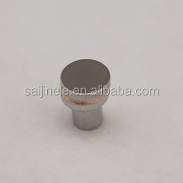 High Precision Machined nickel plated Electrical 99.95 puity Nickel Plated Tungsten Contact for Bike/Scooter horn