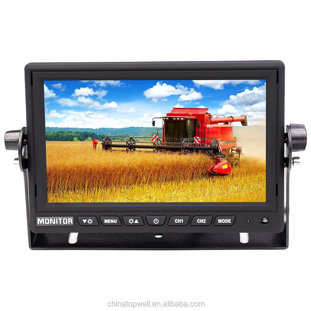 DC12V & 24V Truck Backup Camera System with 960P AHD 7'' HD Monitor