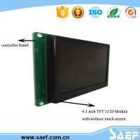 4.3 inch rs232 lcd display module with UART/TTL interface used lcd monitors