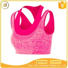 Newest design Women Fitness Yoga Sport Bra