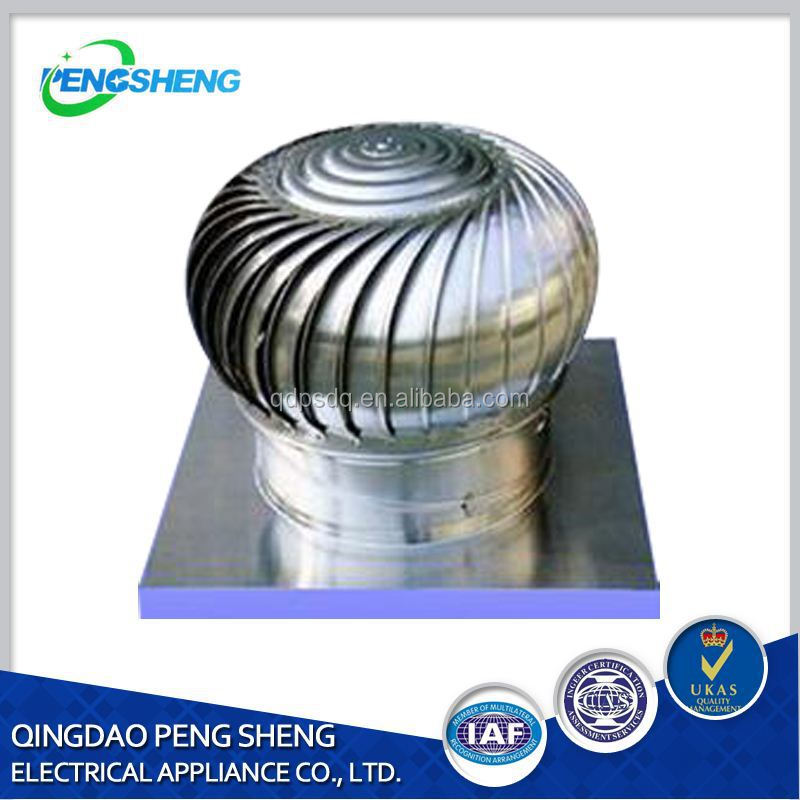 Picture Of Roof Ventilator Turbo : Wind driven roof turbo ventilator turbine exhaust fan