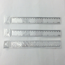 8 Inch Plastic Transparent Color Straight Ruler Math Rulers