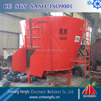 vertical type electric power feed mixer wagon for cow farm