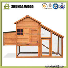 SDC003 Wholesale Outdoor Wood Chicken Rabbit Pet Hutch