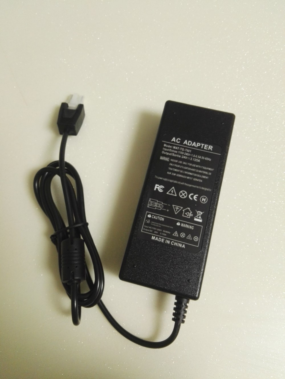 Power supply AC ADAPTER 24V 3.125A For Tiger Power TG-7501 IBM 42H1176