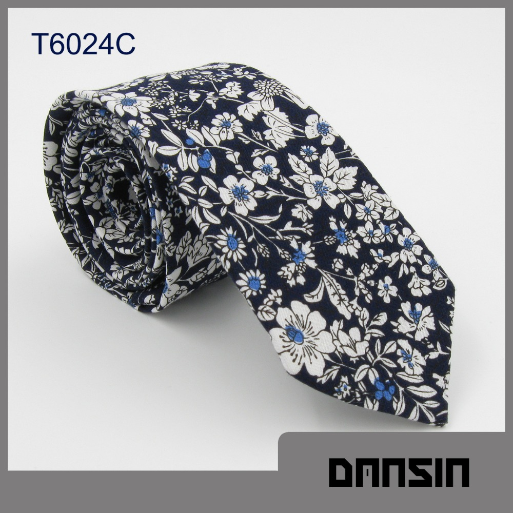 Fashion Design New Arrival Mens Cotton Catoon Necktie