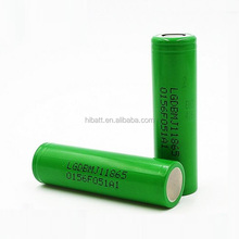 Hot selling Li-ion battery LG MJ1 18650 3500mAh contiuous discharge current 10A