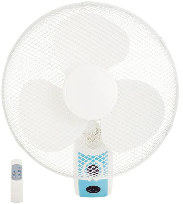 16 inch Wall Mounted Oscillating air cooling room fan Cooling fan With Remote Control With GS/CE/ROHS approval