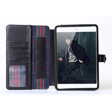 vintage leather tablet flip stand cover case for apple ipad air mini 4