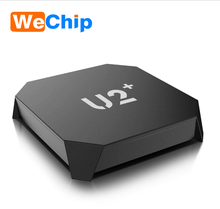 U2+ 1080p HD digital Android 6.0 Internet receiver smart set-top TV box connected usb WiFi network KD 17 AML S905X