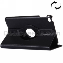 Litchi 360 Degrees Rotating Horizontal Flip Leather Case with Holder Sleep / Wake-up Function for iPad Pro 12.9 Cover