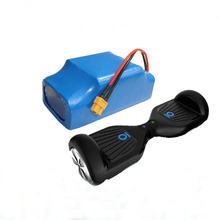 Top quality Lithium INR18650 22P 10S2P hoverboard battery 36v 4.4ah battery pack