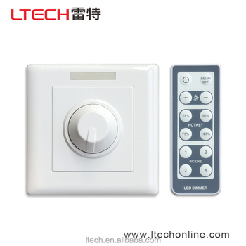 48V Wireless IR remote pwm switch LED dimmer LT-3200 IR led controller