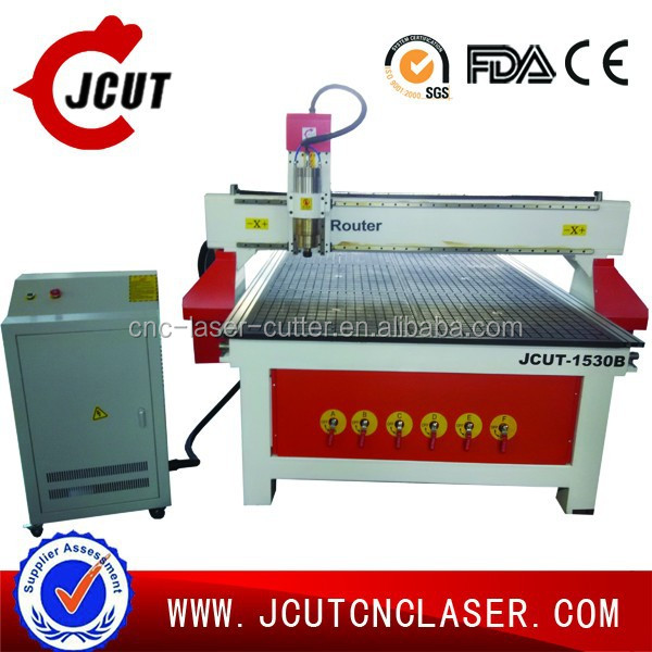 EPS foam and wood 3D models cnc router 1530 JCUT-1530B(with vacuum table)