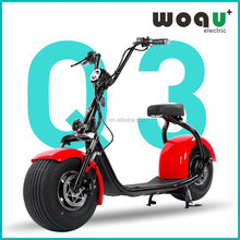 Chinese supplier citycoco Q3 800w motor 48v electric scooter citycoco