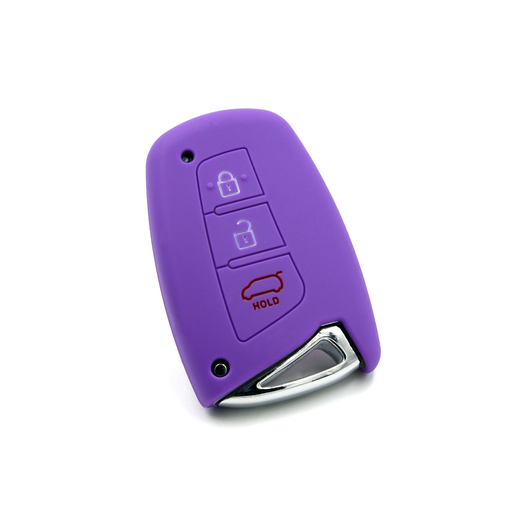 China supplier exclusive silicone car key cover for Hyundai smart key case