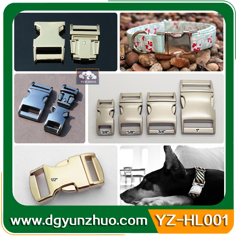Custom LOGO Metal Buckle For Bag, Metal Belt Buckles For Dog Collars