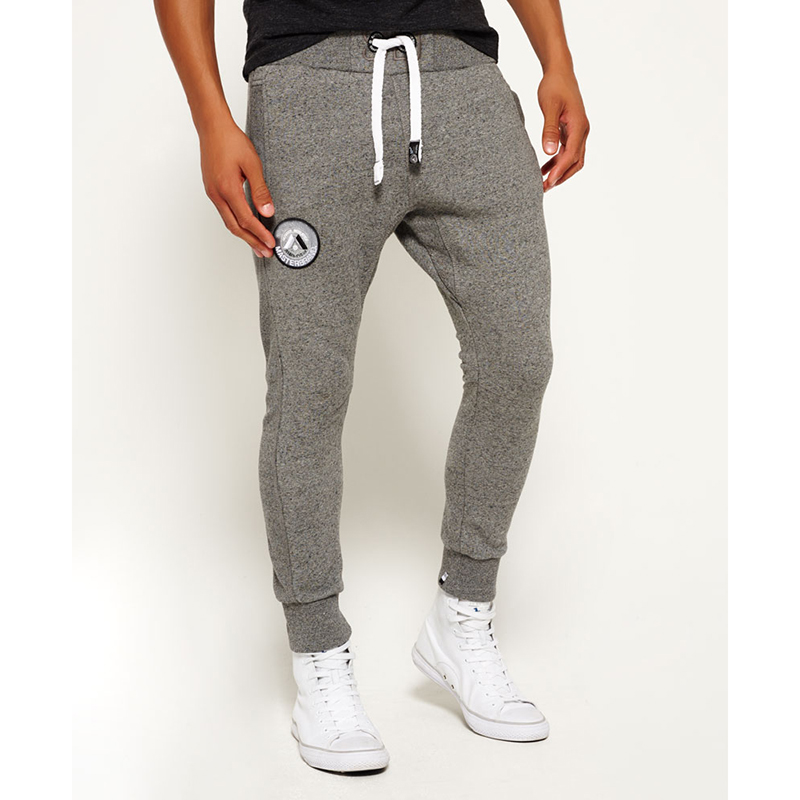 Wholesale mens cargo joggers 2016 skinny slim fit tracksuit bottoms jogging feature sweatpants
