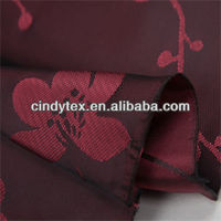 68d drapery soft polyester viscose jacquard and dobby fabric