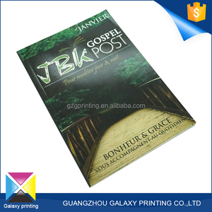 Fine Booklet Print college educational book custom content Printing Paperback Softcover Books