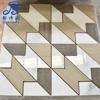30x30decorative lowes blue marble floor tile for outdoor stairsteps