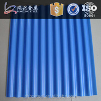 color corrugated roofing sheets for greenhouse construction
