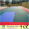 Alibaba china outdoor plastic basketball floor tile for sale
