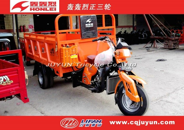 air cooling engine Hydraulic Lifter tricycle/Loading tricycle made in China HL175ZH-A15