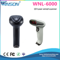 cheap price WINSON 1D wire barcode scanner auto scanner code reader portable with USB Rs232