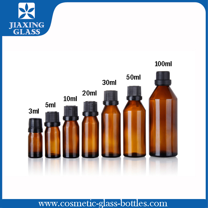 Europe Standard 5ml Essential Oil Glass Bottle With Screw Temper Evident Cap