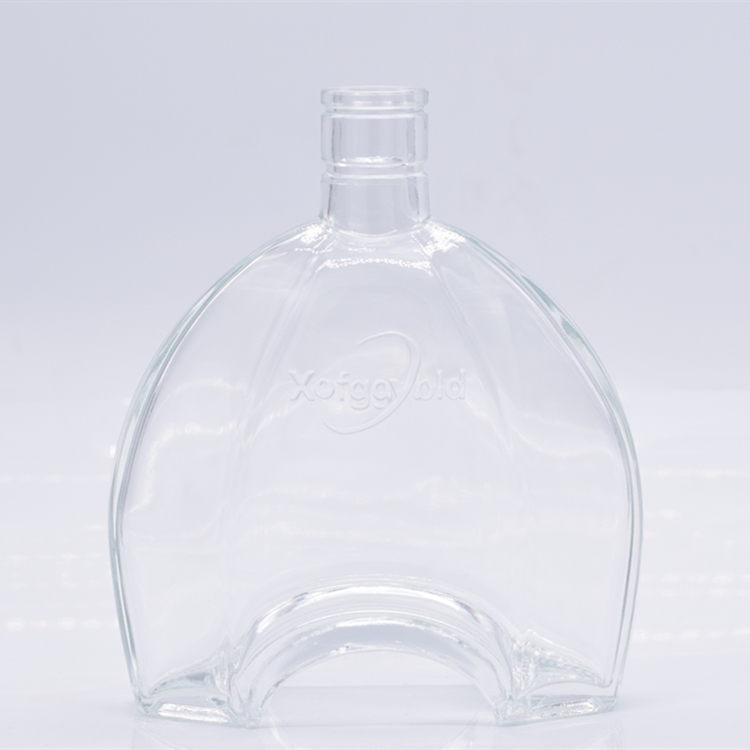 factory customized high quality 1000ml 1500ml clear wine glass bottle