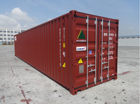 Second hand 40ft land sea containers for sale