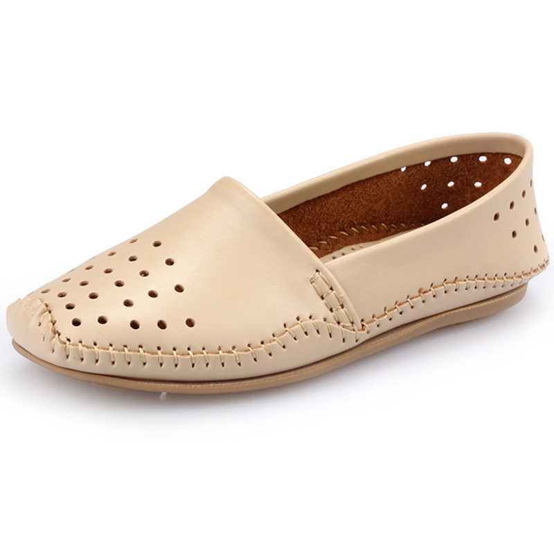 Get Quotations · 2015 New Woman Loafers Shoes Summer Breathable Slip On Flats  Ladies Shoes Zapatos Mujer Women Loafer d145662c6253