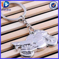 Classic 3D Simulation Model Motorcycle Motorbike Keychain