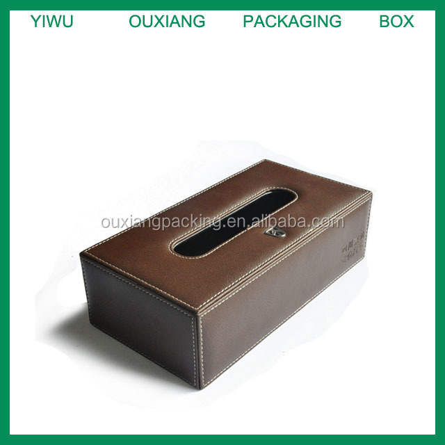 Hight quality PU Tissue Box, Leather Tissue case